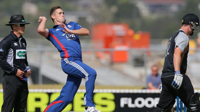 Chris Woakes: Targeting victory in second ODI at Napier