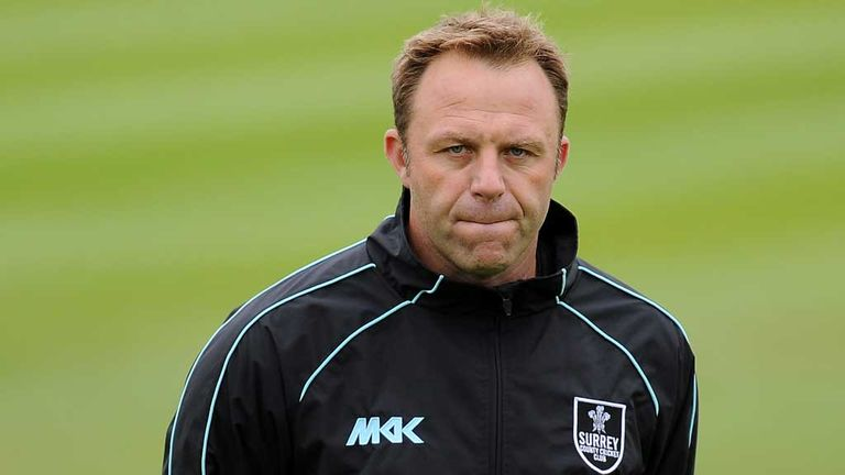 Chris Adams: Sacked as Surrey coach