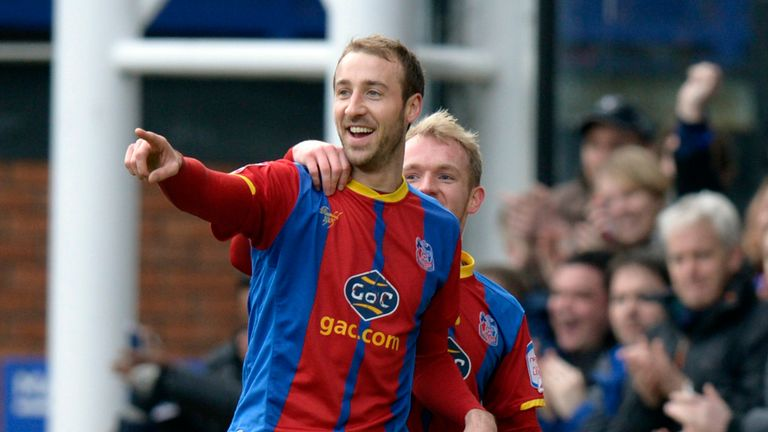 Glenn Murray: Goal in each half for Crystal Palace in 4-1 win over Middlesbrough