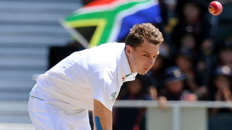 Dale Steyn: Sends down another quickie at The Wanderers