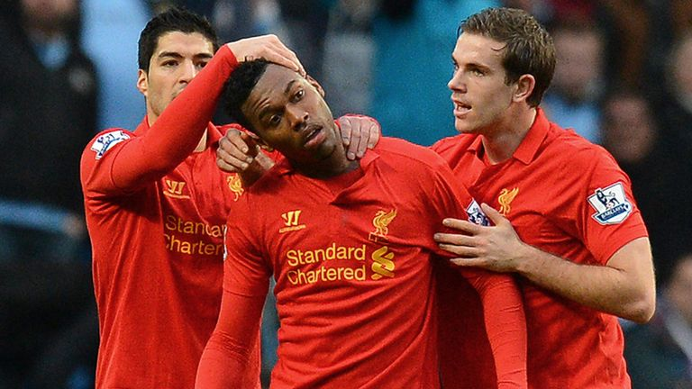 Daniel Sturridge: Receiving treatment in Liverpool