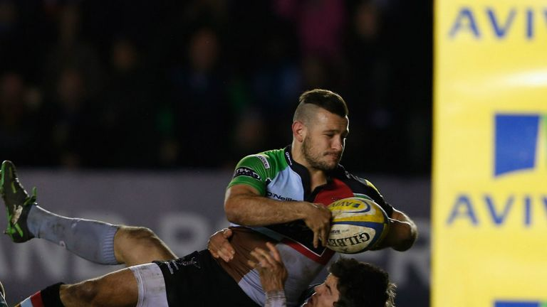 Danny Care: Touched down for Harlequins in the second half