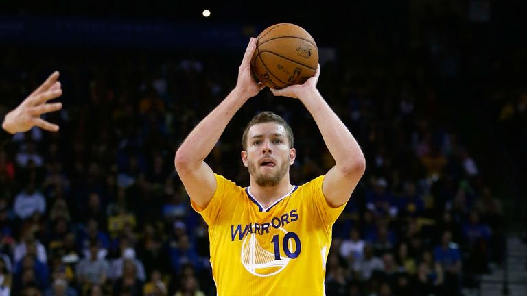 David Lee: 22 points and 13 rebounds for the Golden State Warriors