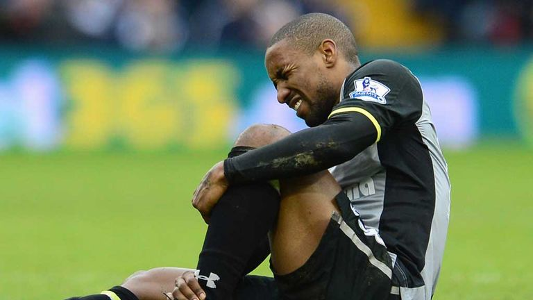Jermain Defoe: Tottenham striker out for up to three weeks
