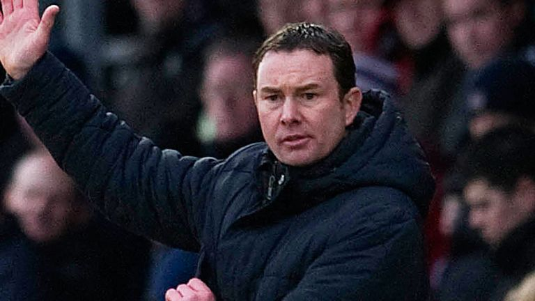 Derek Adams: Content with a draw