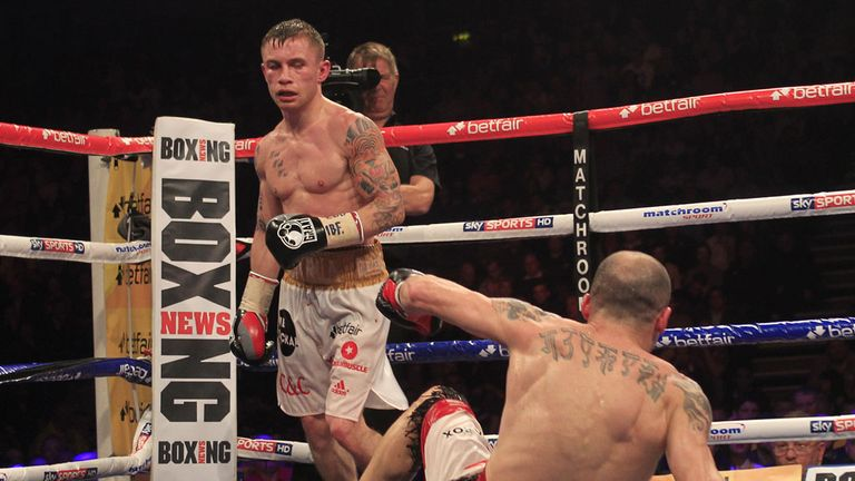 Frampton showed punch resistance and finishing power against Martinez, says Glenn