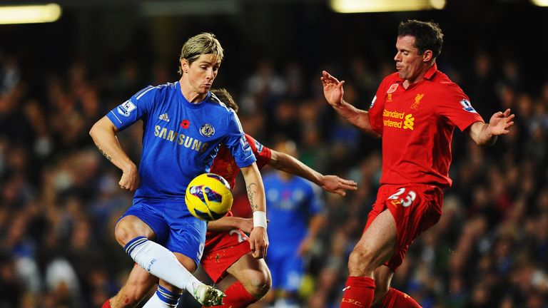Torres: will hope to sink old club Liverpool and boost Chelsea's top four chances