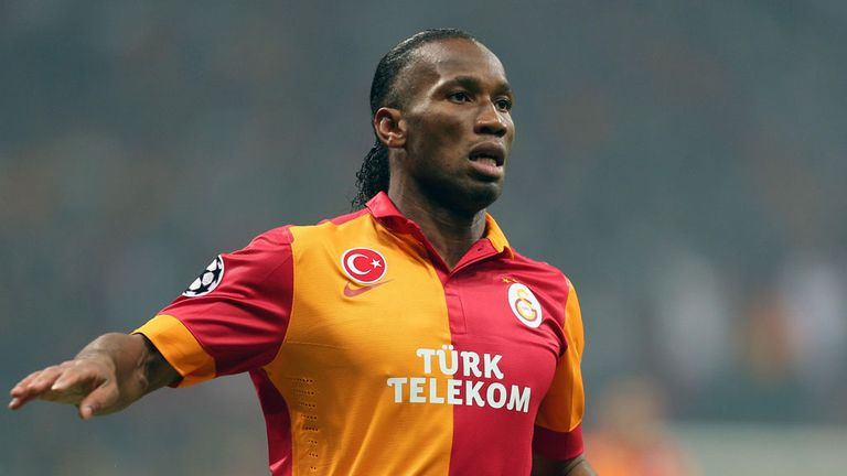 Didier Drogba has been with Galatasaray for three weeks since moving from China