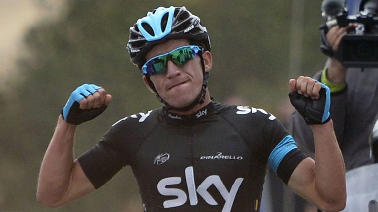 Sergio Henao: Claimed his first victory in Team Sky colours