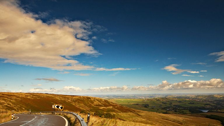 Holme Moss is one of several iconic cycle climbs in Yorkshire (Picture: www.welcometoyorkshire.com)