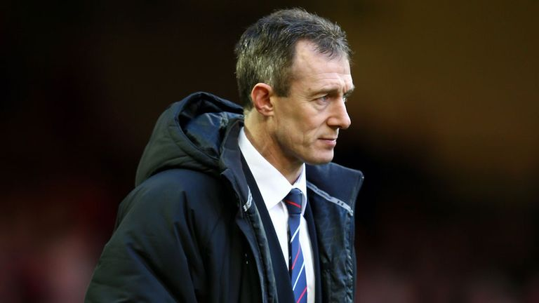 Rob Howley: Delighted with the Wales forwards after beating Scotland
