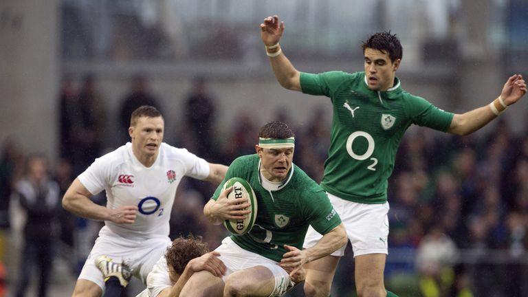 Brian O'Driscoll: England game a blur