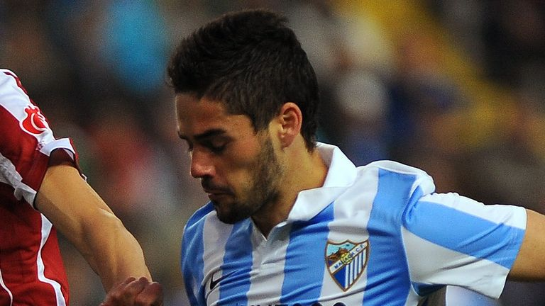Isco: Remains content at Malaga but would be prepared to leave