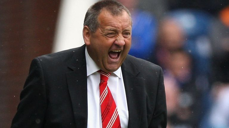 Jimmy Calderwood: Could he be the next Dundee boss?