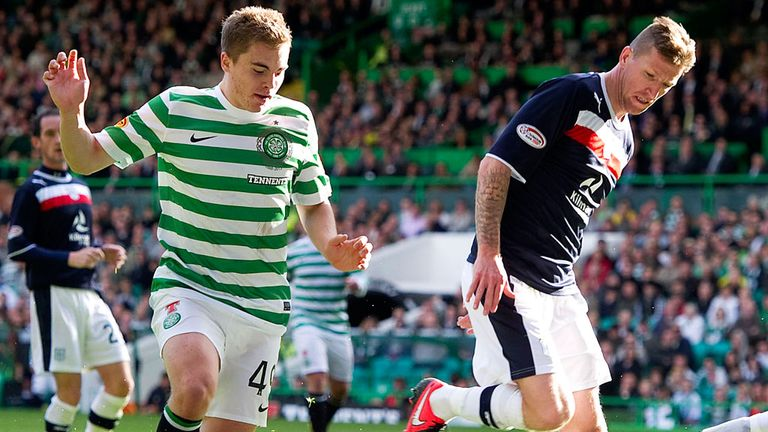 James Forrest: Celtic winger ruled out of Scotland squad