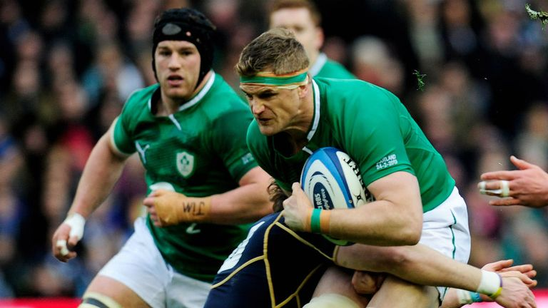 Jamie Heaslip: Criticised for his form in a disappointing Six Nations