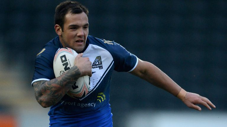 Jason Crookes: Recalled by Hull FC for Friday's game against Salford