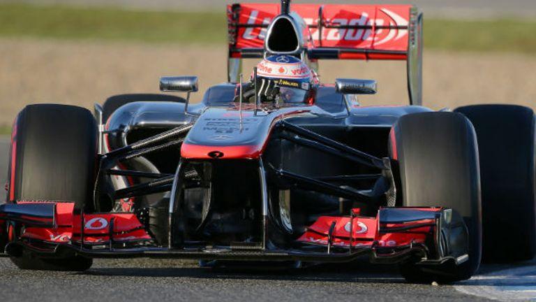McLaren: First recipient of FIA award