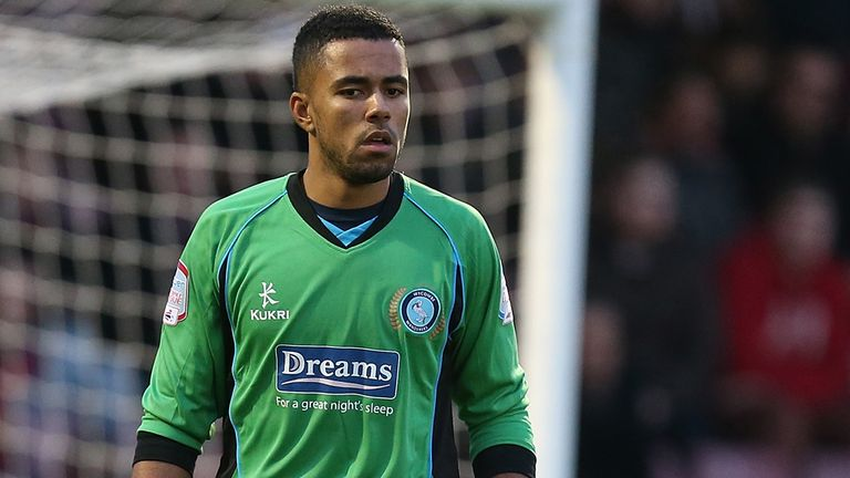 Jordan Archer: Wycombe goalkeeper attacked during Monday's win over Gillingham