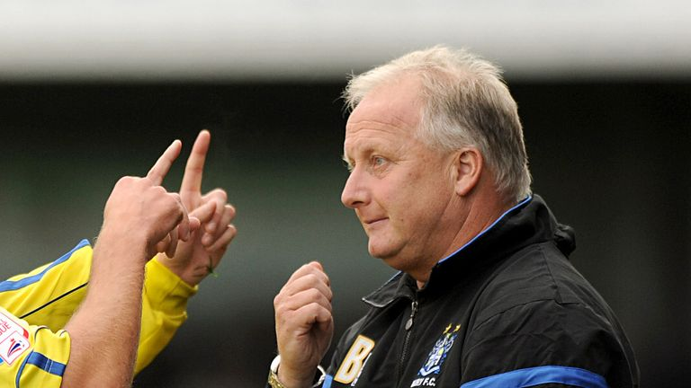 Kevin Blackwell: Delighted with his side's performance
