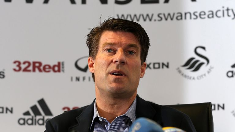 Michael Laudrup: Hoping Swansea can hit 50 points in the league