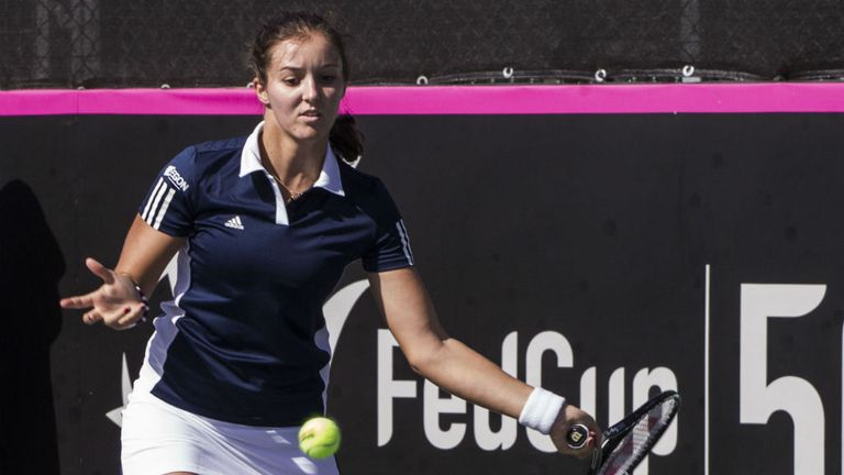 Laura Robson: Battled back from first set bagel