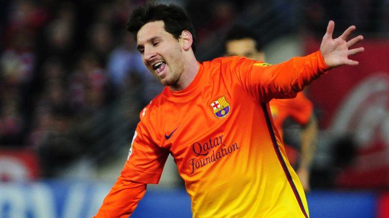Lionel Messi: Scored twice on Saturday against Granada