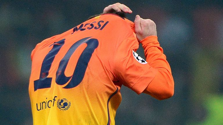 Lionel Messi: was effectively closed down by AC Milan, says Jeff