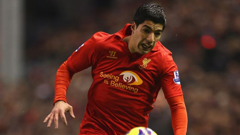Luis Suarez: Brendan Rodgers is aware the Uruguayan striker could be a target for other clubs