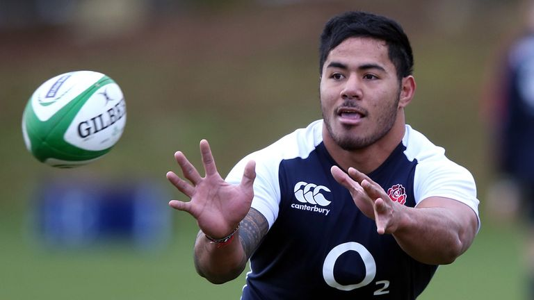 Manu Tuilagi: Could return from injury to face Ireland on Sunday