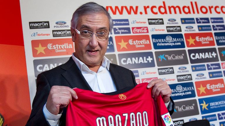 Gregorio Manzano: Back in charge of Real Mallorca