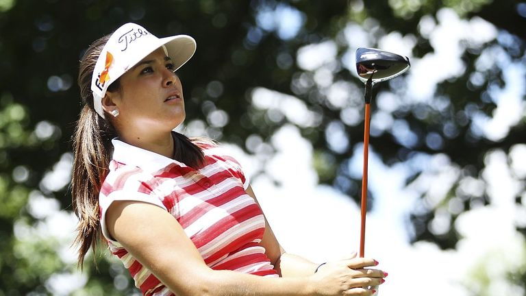 Mariajo Uribe: Colombian leads at halfway stage of Australian Open