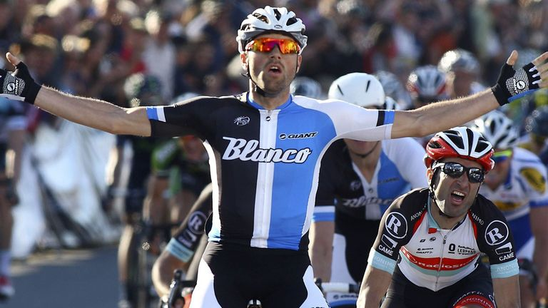 Paul Martens shocked the sprinters to win stage one