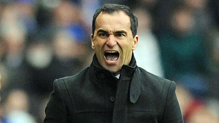 Roberto Martinez: His side are currently three points from safety in the Premier League