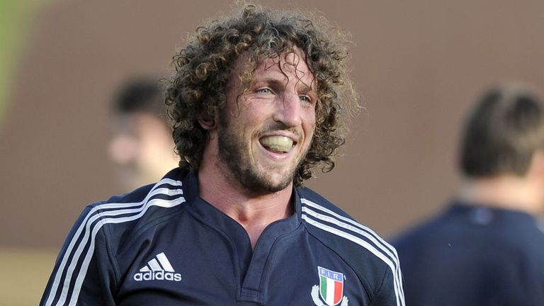 Mauro Bergamasco: May feature against Wales next weekend
