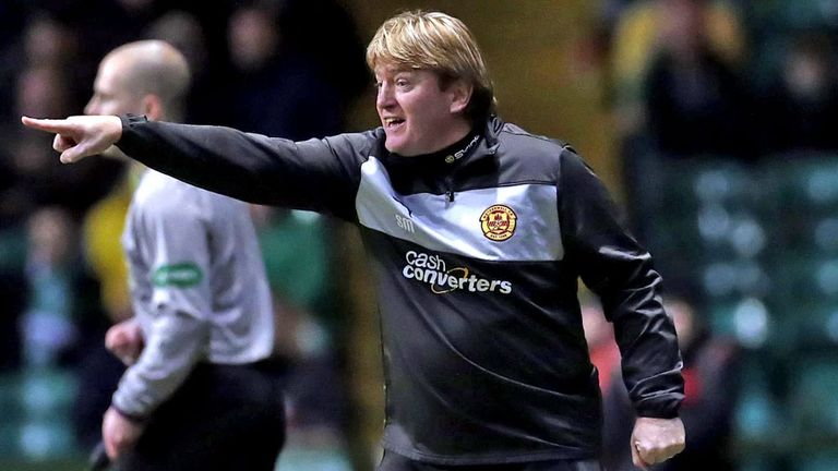 Stuart McCall: Miserable afternoon at Rugby Park for Kilmarnock boss