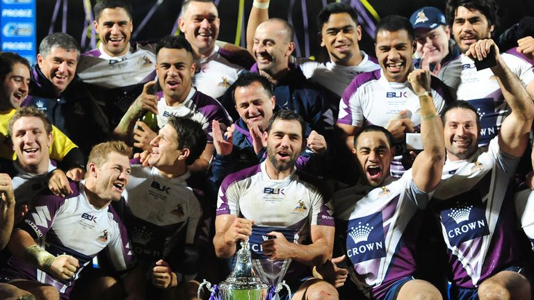Melbourne: winners of the World Club Challenge