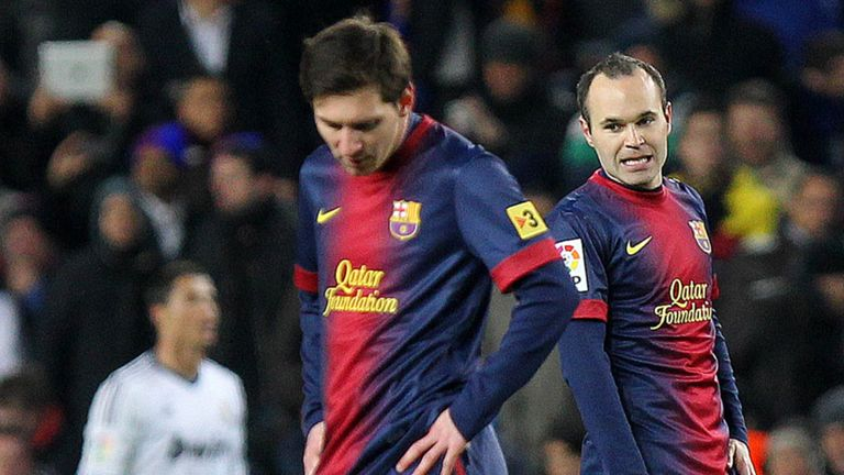 Andres Iniesta: Called on Barcelona to keep hold of Lionel Messi