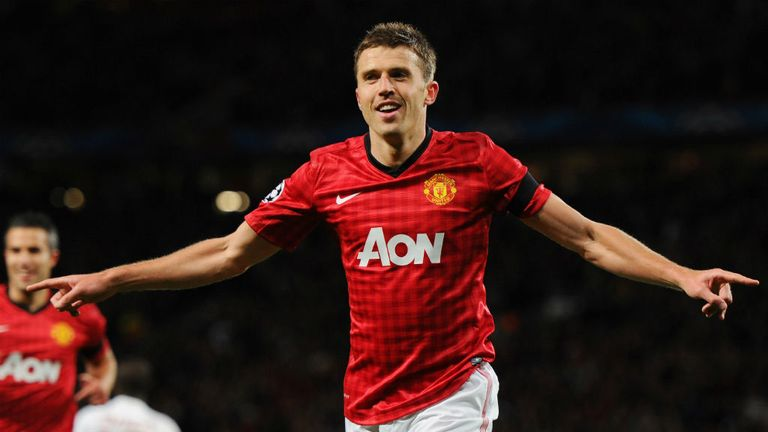 Michael Carrick: Has been an integral part of Manchester United's success this season