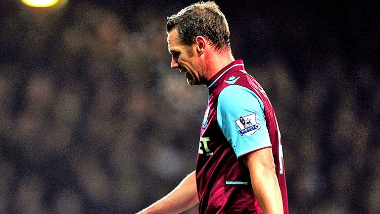 Kevin Nolan: West Ham captain set for spell on sidelines