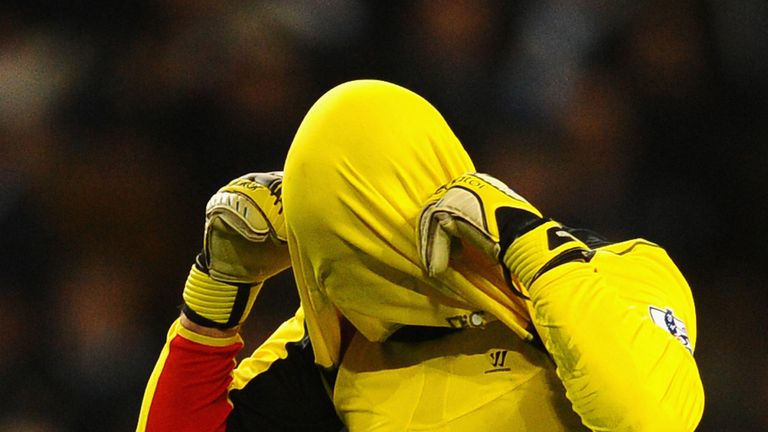 Pepe Reina: Costly mistake