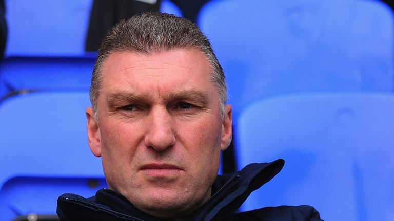 Nigel Pearson: His Leicester side are second in the Championship