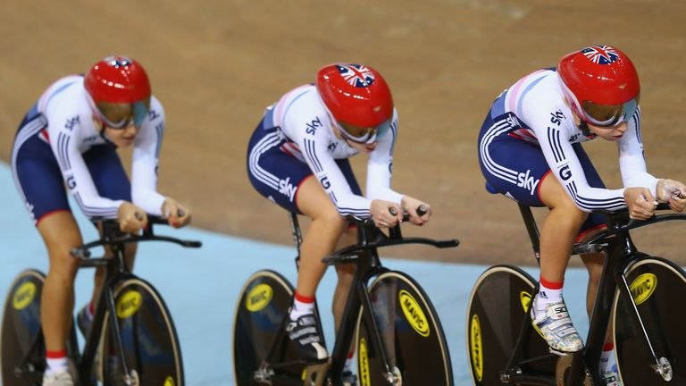 Laura Trott, Dani King and Elinor Barker have been joined in the women's endurance line-up by Joanna Rowsell and Katie Archibald