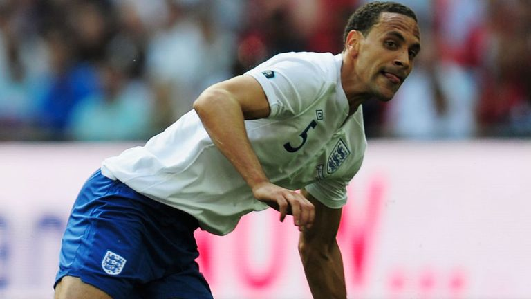 Rio Ferdinand: Is keen to play for England again