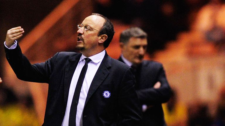 Rafa Benitez: John Hollins thinks Chelsea manager is living on borrowed time
