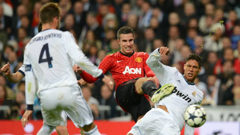 Robin van Persie: Disappointed by chances that went begging