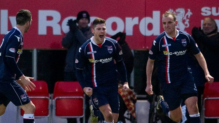 Iain Vigurs: Happy to stay at Ross County