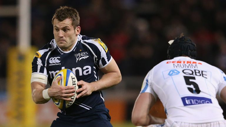 Mark Cueto: Became the Premiership's all-time leading try scorer