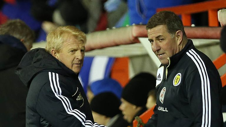 Gordon Strachan & Mark McGhee: In charge of Scotland set-up