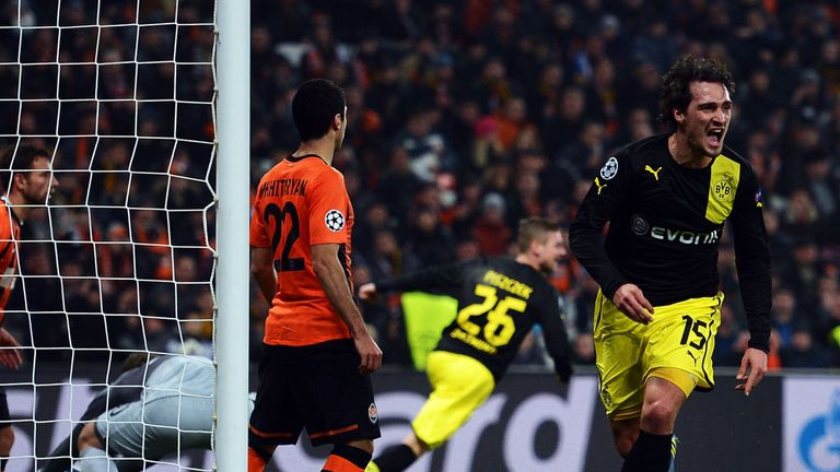 Mats Hummels: Scored Dortmund's second goal on Wednesday night